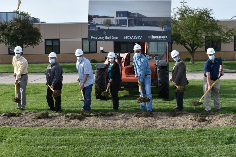 Health Center Breaks Ground for New Outpatient Clinic Expansion